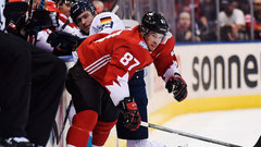 Crosby's line shines again as Canada takes Game 1