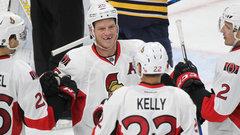 NHL: Senators 2, Sabres 3 (OT)