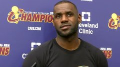 LeBron looks ahead to final stage of career