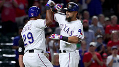 MLB: Brewers 5, Rangers 8