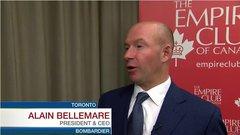 Bombardier CEO: Pratt & Whitney delays hurting momentum