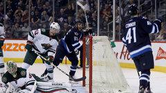 NHL: Wild 1, Jets 4
