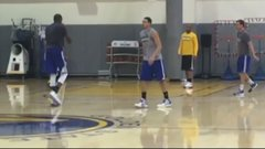 Durant and Thompson drain jumpers for 75 seconds without missing