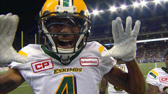 CFL In-Game: Bowman stretches out for the touchdown