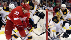 NHL: Bruins 2, Red Wings 1 (OT)