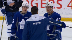 Bozak, Marner hope to find chemistry on the ice