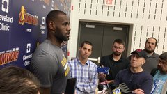 LeBron: 'Smith works his ass off every day'