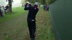 Must See: Mickelson gets crafty with right-handed swing