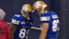 CFL In-Game: Bombers cut into Eskimos' lead