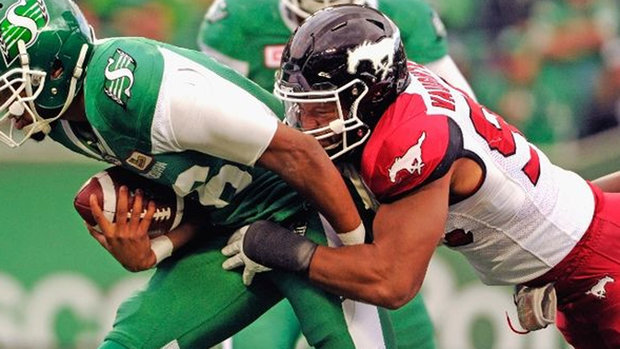 Stampeders getting it done this year with defence