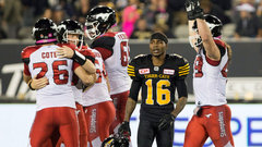 CFL: Stampeders 28, Tiger-Cats 25