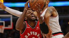 NBA: Raptors 125, Bulls 104