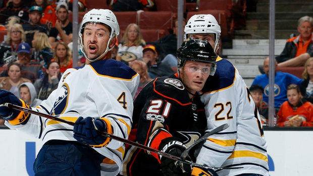 NHL: Sabres 3, Ducks 1