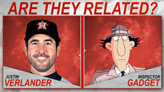 Are they Related?: Justin Verlander and Inspector Gadget