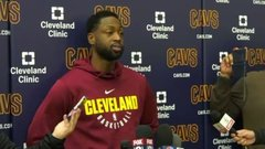 Wade says teammates expect LeBron to play in opener