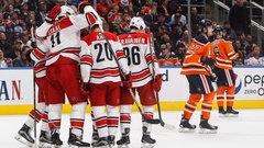 NHL: Hurricanes 5, Oilers 3