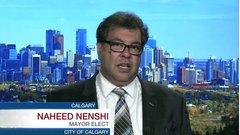Nenshi wins third term as Calgary mayor, addresses property taxes, Calgary Flames