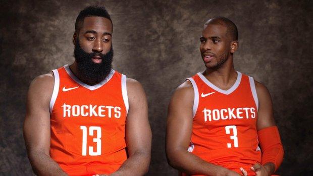 Harden, Rockets felt they needed another vet leader