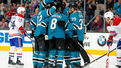 NHL: Canadiens 2, Sharks 5