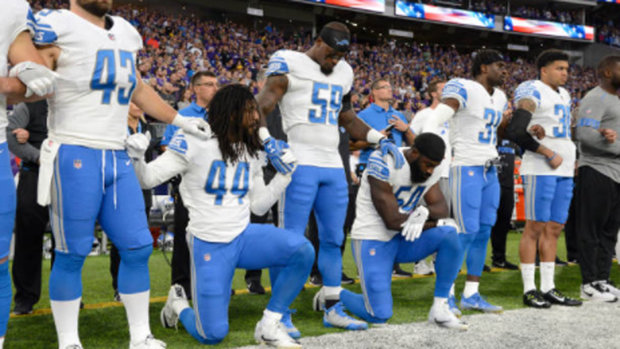 Naylor: NFL trying to work with players to find solution for anthem protests