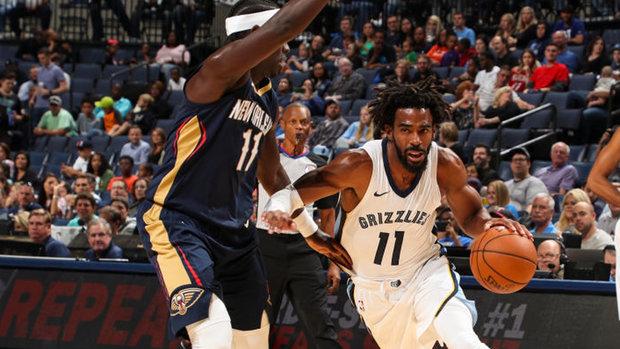 NBA: Pelicans 91, Grizzlies 103