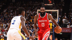 NBA: Rockets 122, Warriors 121
