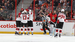 NHL: Devils 5, Senators 4 (OT)
