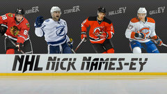 NHL Nick Names-ey