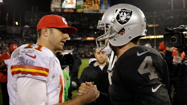 Raiders look to get right against Chiefs