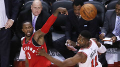 Miles wastes no time making an impact for the Raptors