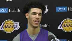 Lonzo just wants a win in first NBA game
