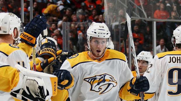 NHL: Predators 1, Flyers 0