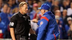 Maddon ejected arguing foul-tip call