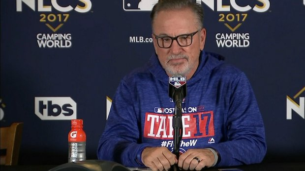 Maddon on 8th inning foul ball: 'I can't buy that process'