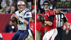 Next Gen Stats: Tom Brady-Matt Ryan rematch