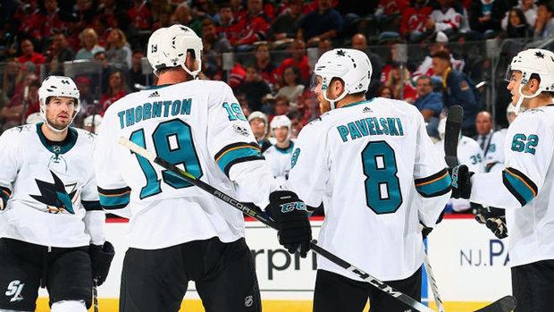 NHL: Sharks 3, Devils 0