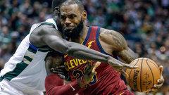 NBA: Cavaliers 116, Bucks 97