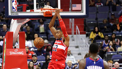 NBA: Pistons 111, Wizards 115