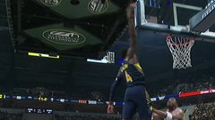 Must See: Oladipo climbs the ladder on the ferocious slam