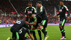 EPL: Stoke City 1, Bournemouth 2