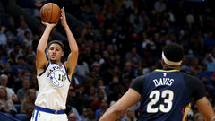 NBA: Warriors 128, Pelicans 120