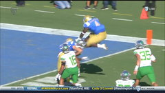 Must See: UCLA's Olorunfunmi scores with wild hurdle