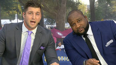 Tebow delivers rousing pep talk to Tennessee