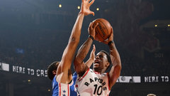 NBA: 76ers 94, Raptors 128