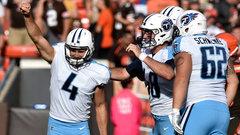 NFL: Titans 12, Browns 9 (OT)