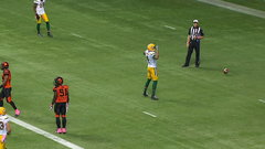 Bowman TD, two-point convert ties game for Eskimos