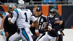 Must See: Jackson's 76-yard pick six off Newton