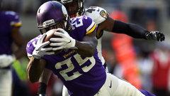 NFL: Ravens 16, Vikings 24