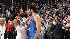 NBA: Thunder 87, Jazz 96