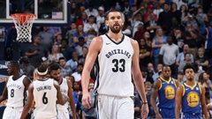 NBA: Warriors 101, Grizzlies 111